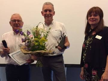 Roger Ruijters wint de Ludo Scheres Award